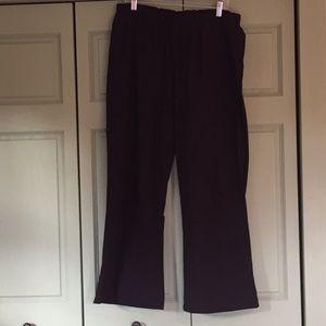 Champion athletic pants. Black. Size L.